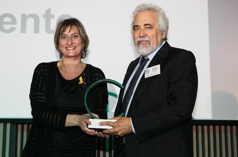CataloniaBio & HealthTech premia la trayectoria profesional de Antonio Parente