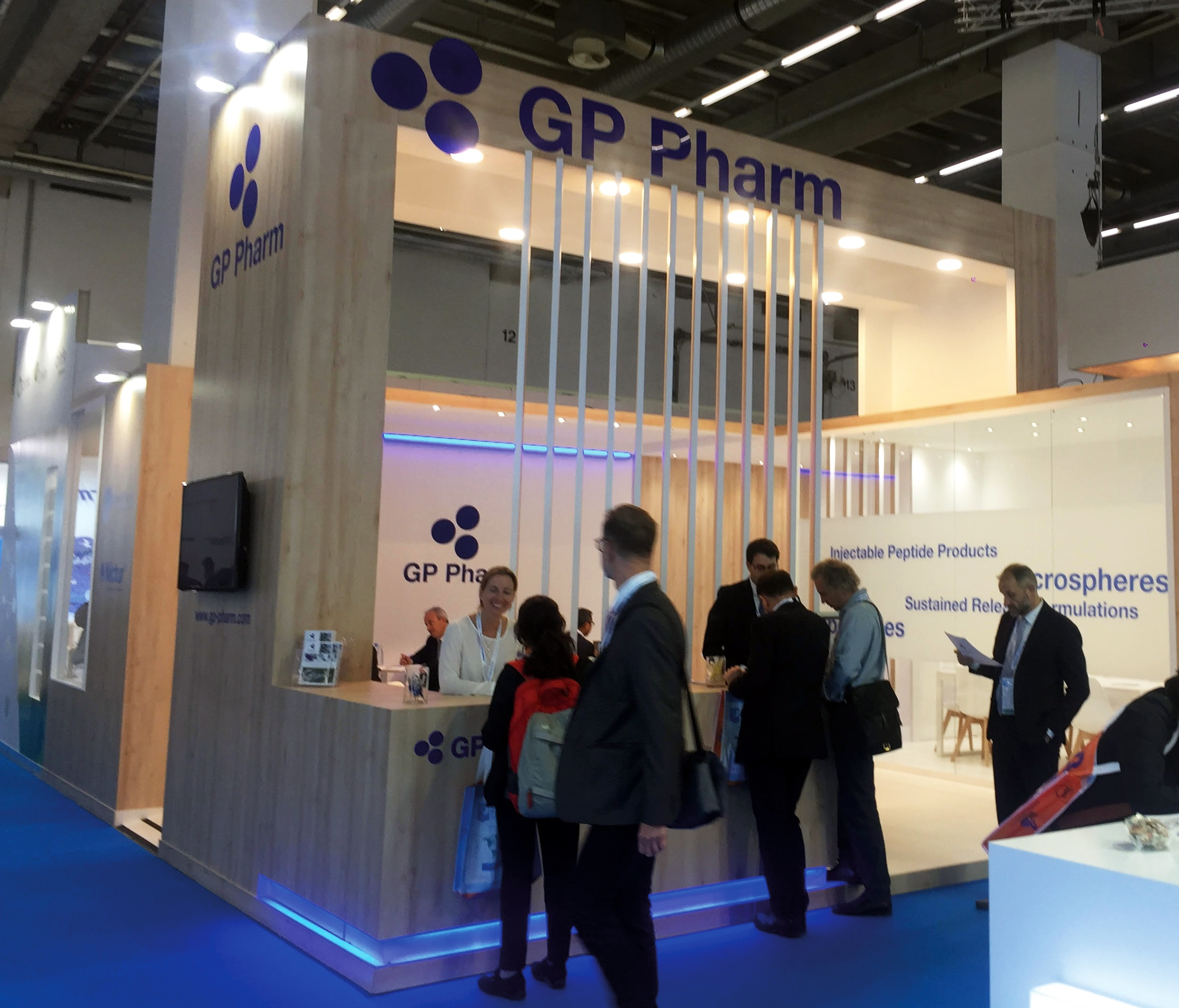 GP Pharm present a la CPhI Worldwide